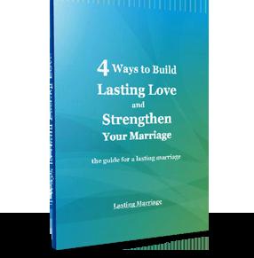 4 Ways to Build Lasting love