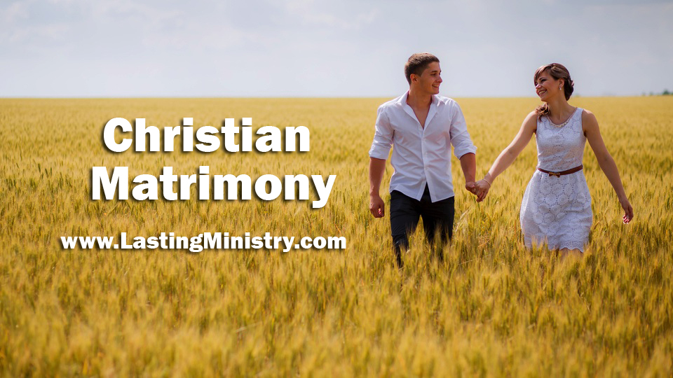 Christian Matrimony