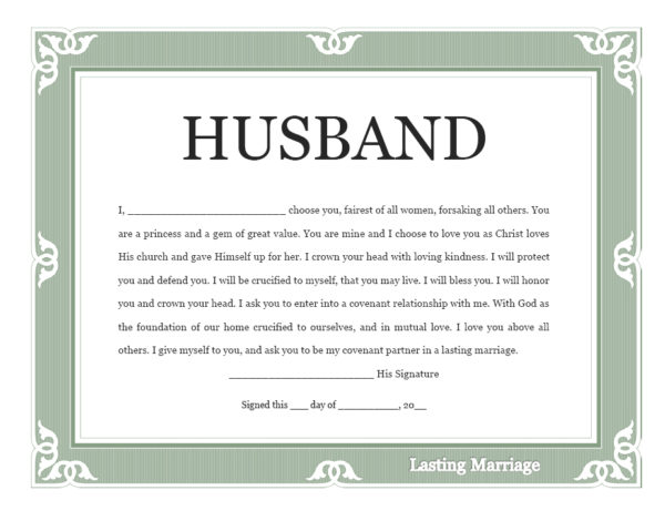 husband-covenant