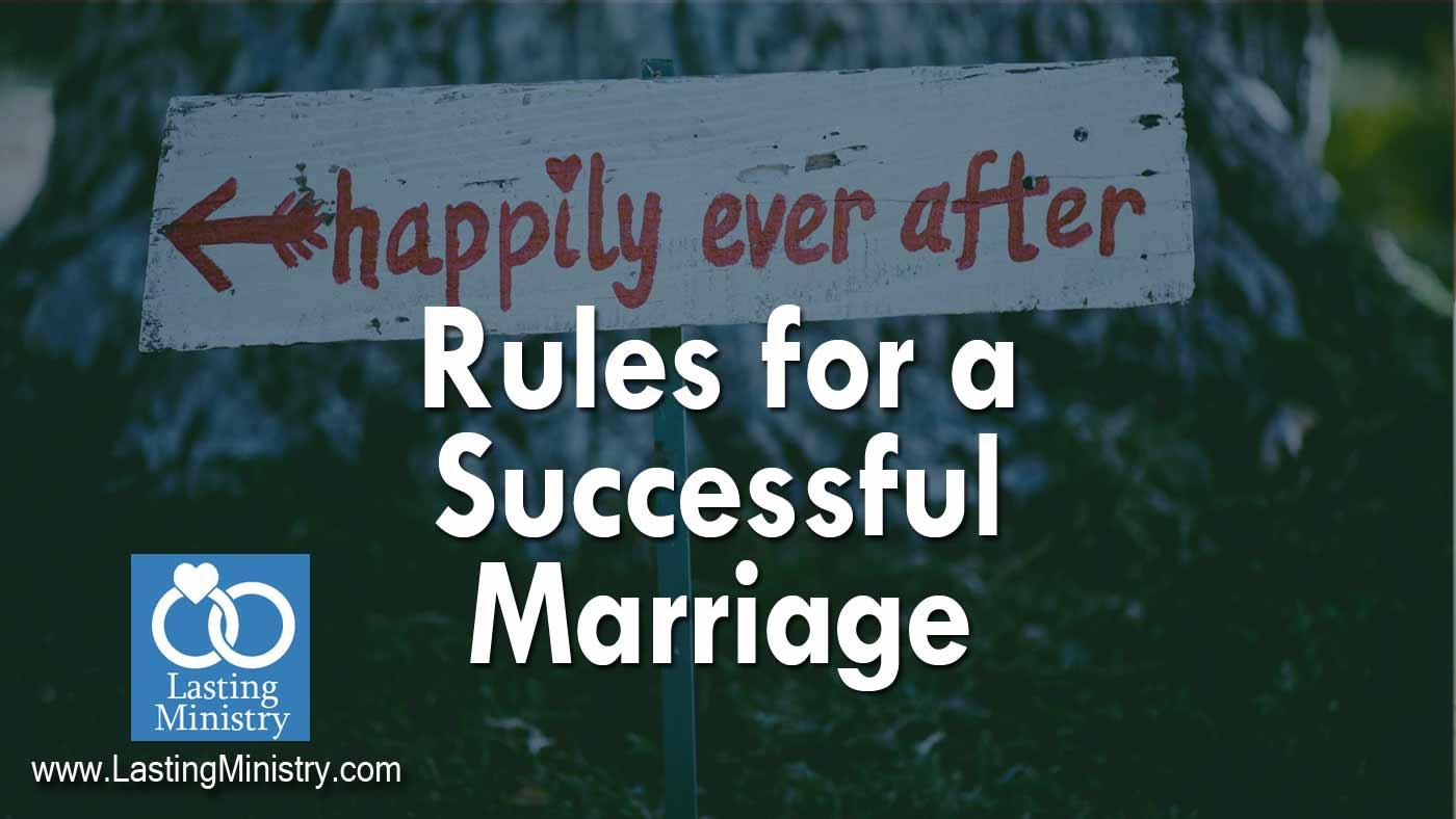 Rules for Marriage