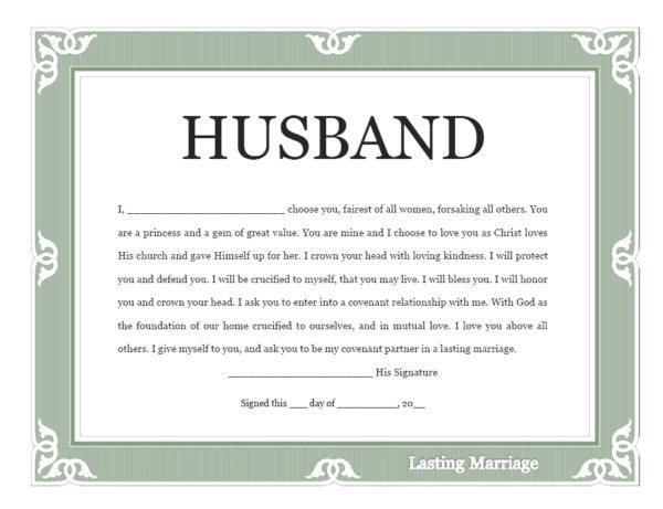 husband-covenant